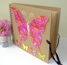 Large Scrapbook Album Large Butterfly Scrapbook Photo Album Scrapbook Album