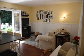 garage converted into a family room french doors in place of the