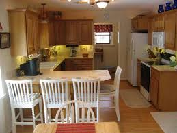 White Galley Kitchen Galley Kitchens With Breakfast Bar Deductour Com