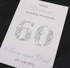 60 wedding anniversary anniversary cards 60 wedding anniversary cards luxury large