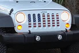 Rugged Ridge Grille Inserts Jeep Jk American Flag Grill Insert For Jeep Dirty Acres U2013 Jeep World