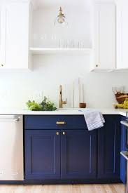Color Kitchen Ideas Best 25 Navy Kitchen Cabinets Ideas On Pinterest Navy Cabinets