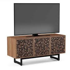 elements triple width storage and media console bdi modern media