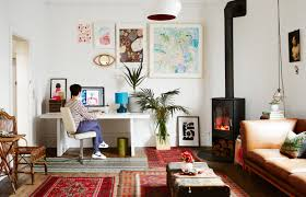 my home on the design files sweet william