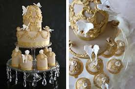 gold cakes u0026 luxurious wedding cakes