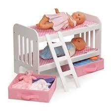Badger Bunk Bed Badger Basket Doll Bunk Bed With Ladder And Two Storage Baskets