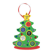 colors of faith u201d christmas tree craft kit orientaltrading com