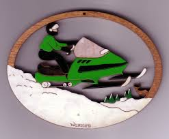 snowmobile 123 14 95 wallace wood ornaments quality