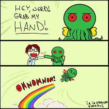 Cthulhu Meme - grab my cthulhu meme by strawberrychewies on deviantart