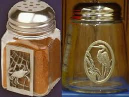 cheese shakers spice shaker spice holder crabs old bay glass