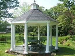 exterior design wonderful hardtop gazebo for backyard ideas