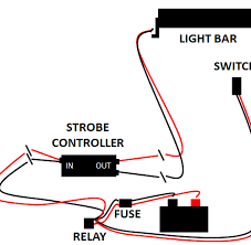 excellent wiring diagram for led light bar without relay