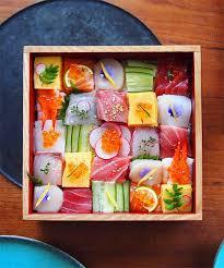food arrangements sushi culinary craze turns japanese meals into artistic arrangements