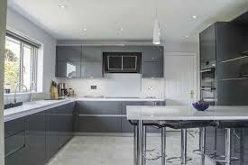 high gloss kitchen designs grey high gloss kitchens deductour com
