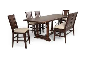 Broyhill Dining Room by Broyhill Attic Rustic Oak Six Piece Pub Set Mathis Brothers
