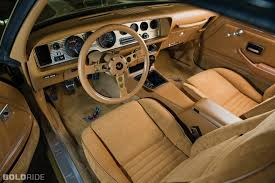 pontiac trans am gold edition interior 79 81 pontiac