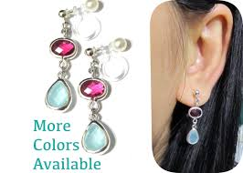 clip on earings go for clip on earrings without piercing bingefashion