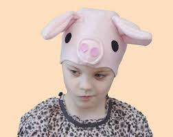 Kids Pig Halloween Costume Toddler Pig Costume Etsy