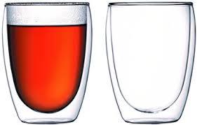 bicchieri bodum bodum 4559 10 pavina set de 2 verres paroi 35 cl