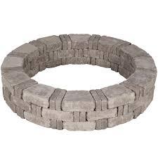 pavestone rumblestone 59 in x 10 5 in tree ring kit in cafe