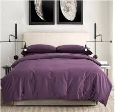 100 egyptian cotton sheets dark deep purple bedding sets king for