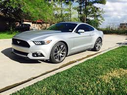Silver Mustang Black Rims The Ingot Silver Mustang Ecoboost Photo Thread Ford Mustang