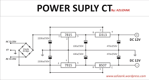 power supply simetris 12v high regulator ct wiring diagram