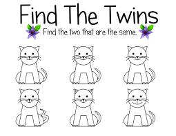 find the matching pairs u2013 children u0027s best activities