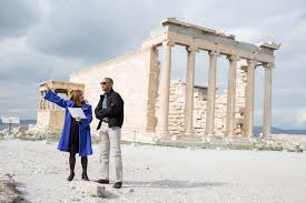 White House Tours Obama by Behind The Scenes President Obama Visits The Acropolis In Athens