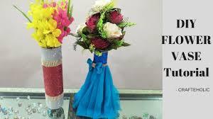 how to make flower vase best out of waste ideas diy vase
