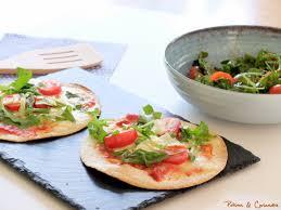 bouquin de cuisine tortizza et salade de roquette