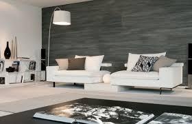canapé cuir contemporain design salon en cuir blanc cool salon canap design vente salon et canap