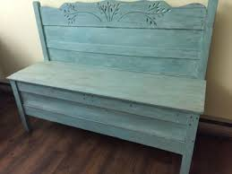 Bench From Headboard Bed Headboard And Footboard Become A Bench Hometalk