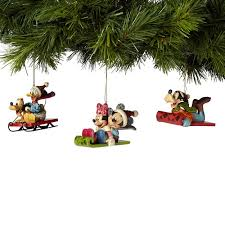jim shore heartwood creek disney collection disney sledding ornament