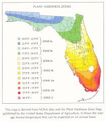 temperature map florida i found a new usda hardiness map for florida weather climate
