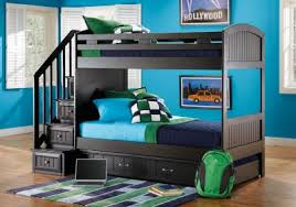 Stair Bunk Beds Fascinating 60 Bunk Beds With Stairs Decorating Design Of Top 25