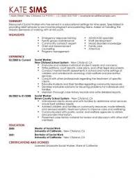 Social Work Resume Examples by Examples Of Resumes 89 Fascinating Simple Resume Example Basic