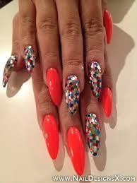 mix stiletto nail art nail designs u0026 nail art trendy nail