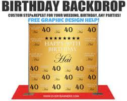 Photo Backdrops For Parties Birthday Backdrop Etsy