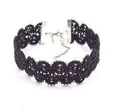 black lace ribbon janice ii modele lace ribbon choker natalie b jewelry