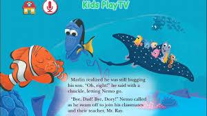 finding classmates bedtime story for kids disney finding nemo storytime for
