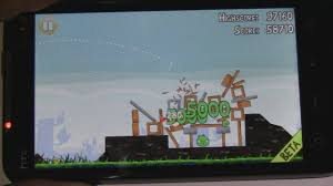 Htc Wildfire Youtube App by Android Game Angry Birds On Htc Evo 4g Youtube