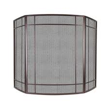 fireplace 3 panel fireplace screen home depot fireplace screen