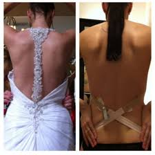 backless push up bra for wedding dress backless gown brides what to wear there weddingbee