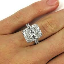 radiant cut engagement ring stunning certified 9 28 carat radiant cut diamond platinum