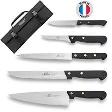 malette de couteau de cuisine pour apprenti sabatier malette du cuisinier 5 couteaux professionnels français