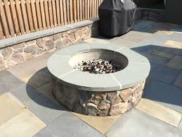 Outdoor Stone Firepits by Outdoor Fireplace U0026 Fire Pit Design Photos In Cental Nj