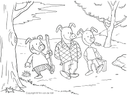 articles 3 pigs printable coloring pages tag 3
