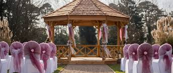 Outside Weddings Outdoor Weddings Now Available At Woodside Sundial Group