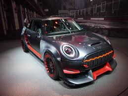 mini john cooper works gp concept all about unfettered feeling of